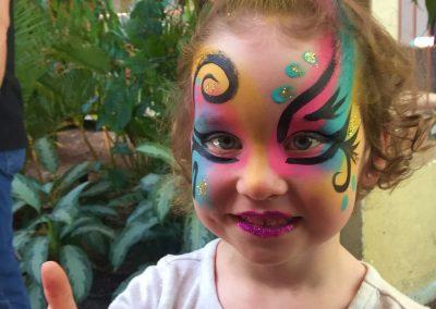 Maquillage Licorne 2