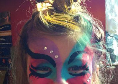 Maquillage licorne fliptop 2