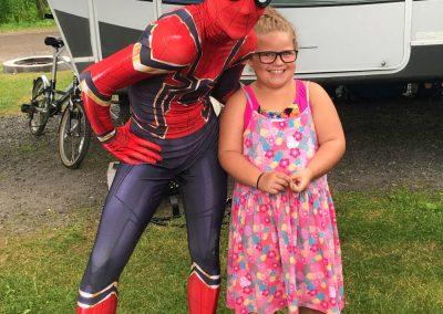 fête d'enfants super héros spiderman 5
