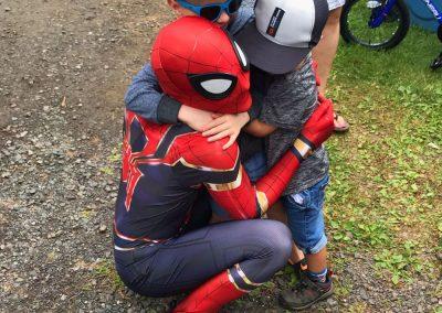 fête d'enfants super héros spiderman 7