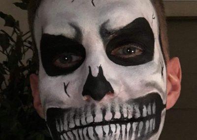 maquillage Halloween copie