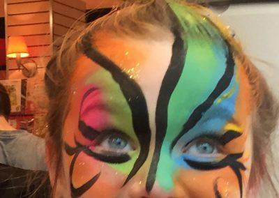 maquillage licorne fliptop