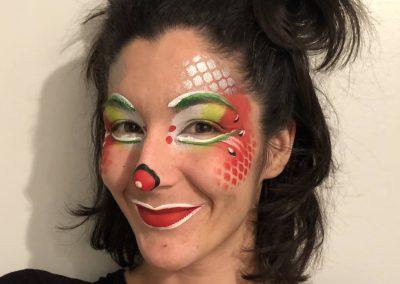 Atelier de maquillage lutin : clown