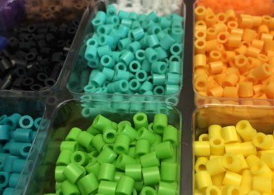 Perles hamas atelier artistique FlipToP