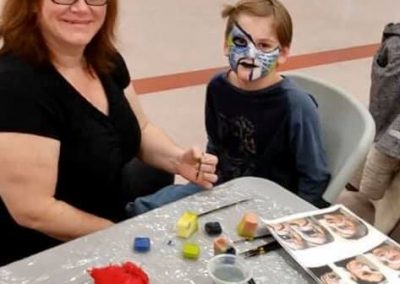 atelier de maquillage parents-enfants
