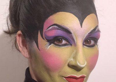 atelier de maquillage sorcière maléfique